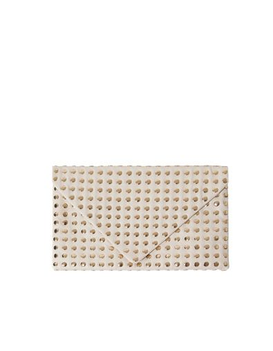 Wallet With Gold Studs Accessories Accessories Woman Zara