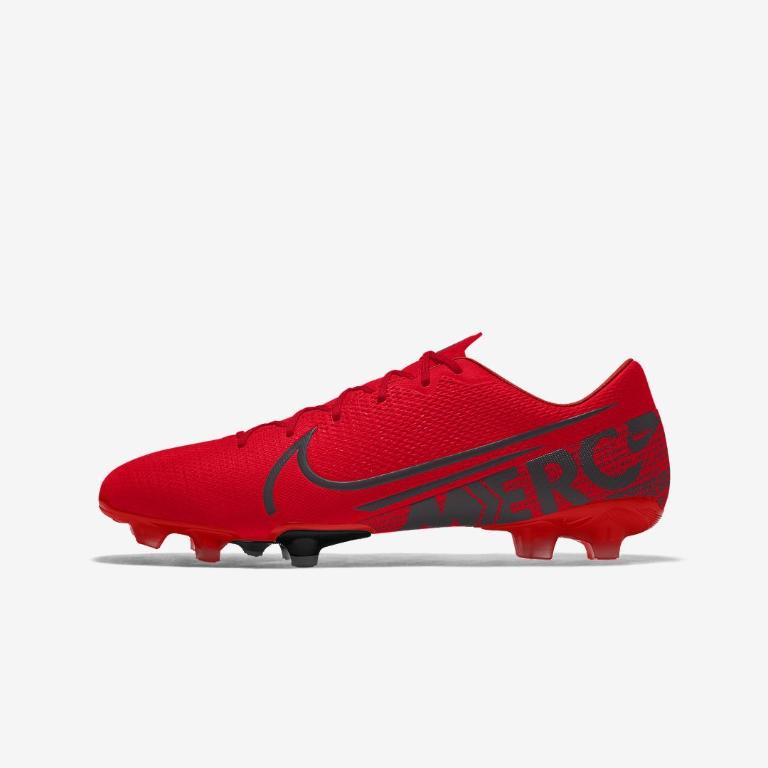 Nike Mercurial Vapor 13 Academy Fg Mg By You Custom Multi Ground Soccer Cleat Multi Color Custom Soccer Cleats Custom Football Cleats Soccer Boots
