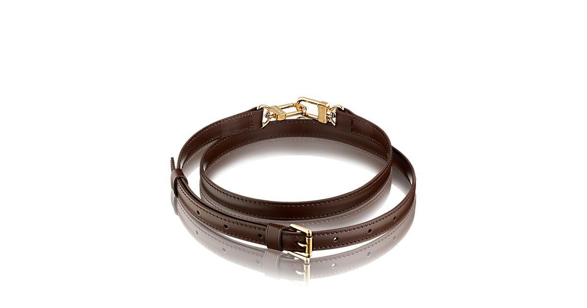 9e885293f0 Discover Louis Vuitton Adjustable Shoulder Strap 16 mm Ebene ...