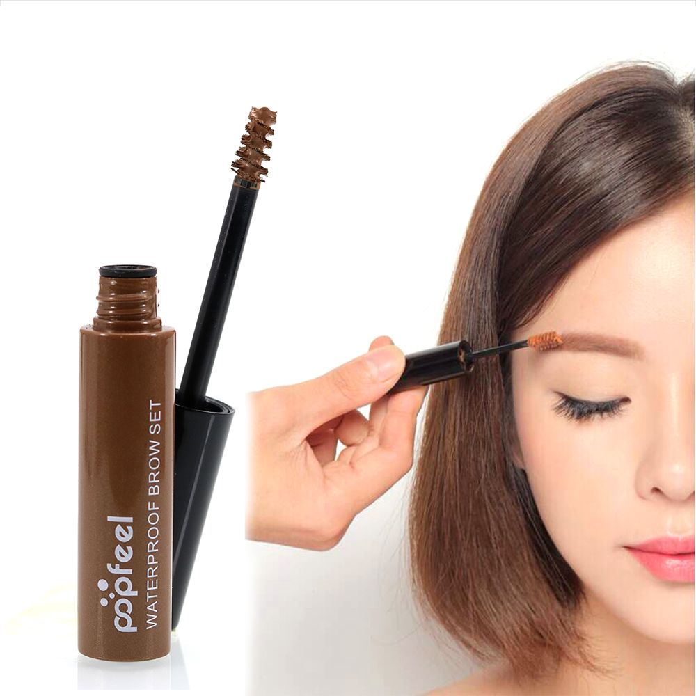 2016 Popfeel Eyebrow Gel Eye Brow Gel Eyebrow Enchancer Paint Brown