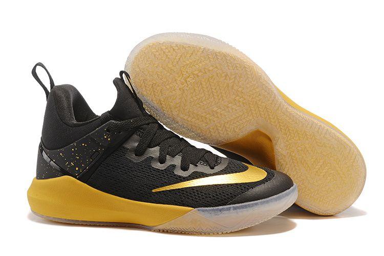 Nike Zoom Shift Team Black Gold Metallic Gold