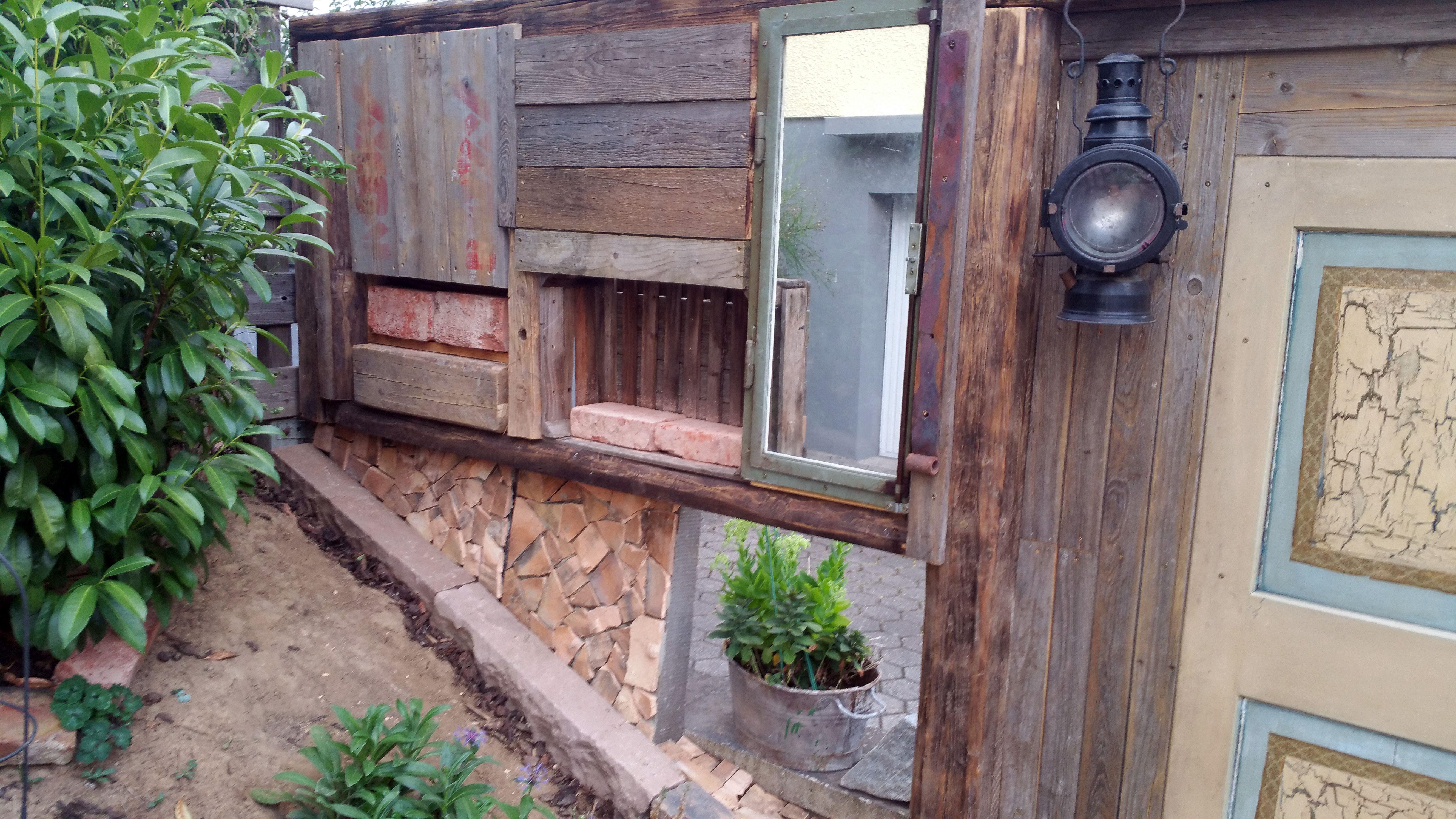 Diy Vintage Gartenzaun Sichtschutz Aus Verschiedenen Elementen