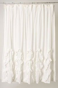 Waves Of Ruffles Shower Curtain Review At Kaboodle