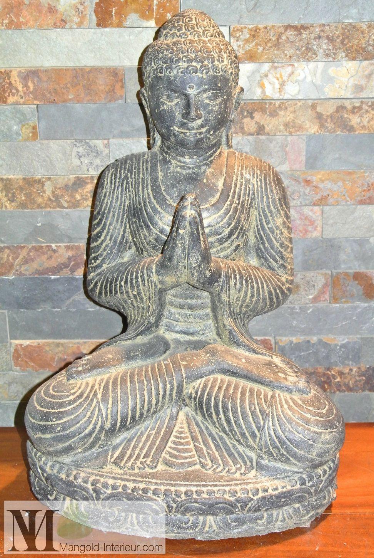 Stein Buddha Garten Budha Statue Chakra Bali Dekoration Feng Shui ...