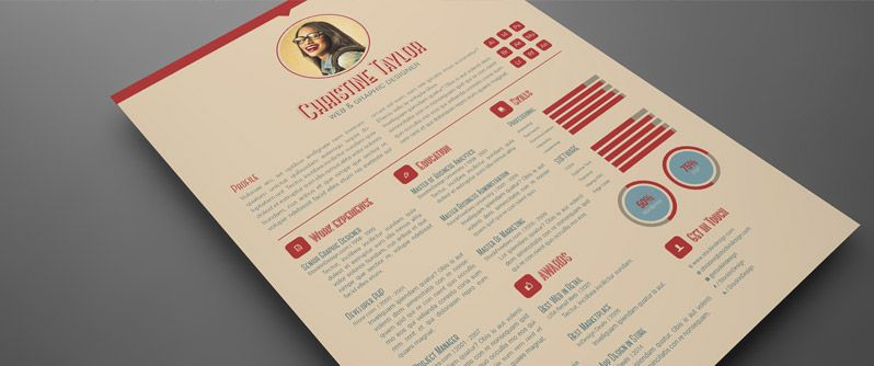 4 Plantillas para un CV Profesional Creativo CV Pinterest - adobe indesign resume template