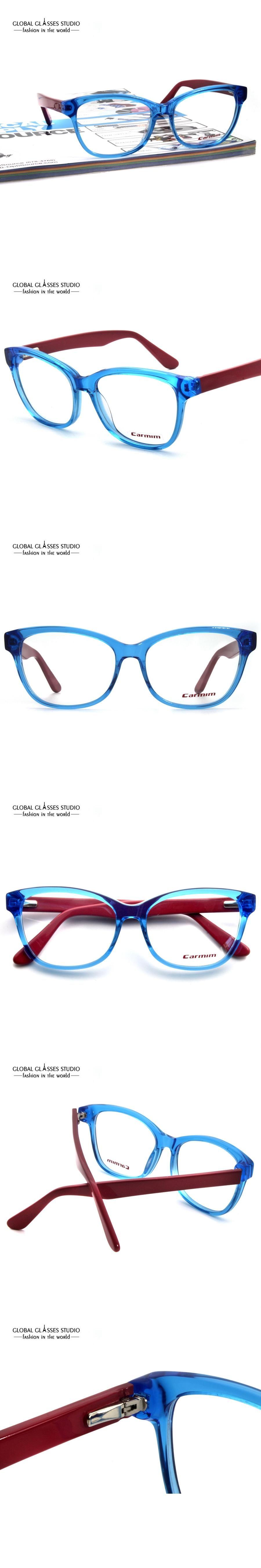 New Crystal Blue Dark Red Cute Men/Women Fashion Design Glasses ...