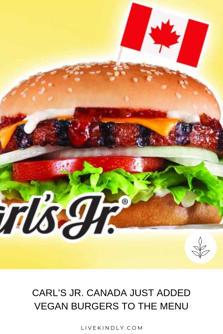Fast food chain Carl's Jr. Canada added the Beyond Famous