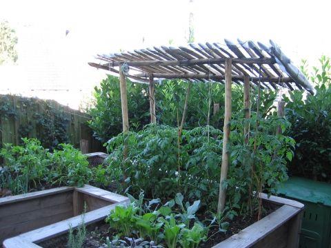 Wie Schutze Ich Die Bretter Meines Hochbeetes Vor Faulnis Am Besten Okologisch Garten Tomaten Dach Hochbeet