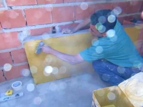 PINTANDO PAREDE EM BLOCOS' PAINTING WALL BLOCKS '