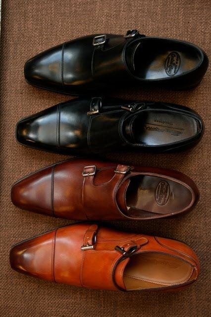 Men's shoes - Double monkstraps for every occasion.