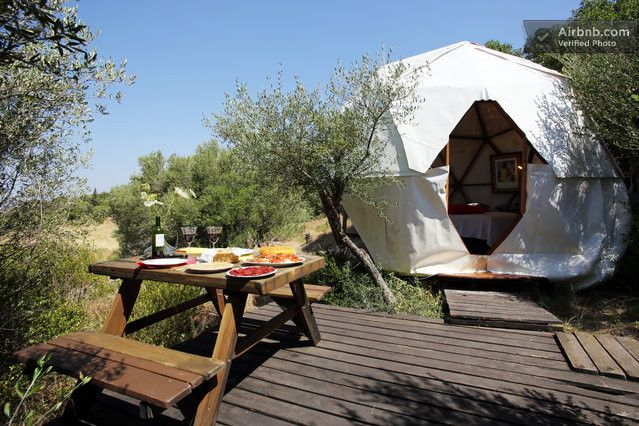 "06 ""Cosy"" Geodesic Dome & Space in Tarifa (With images) 
