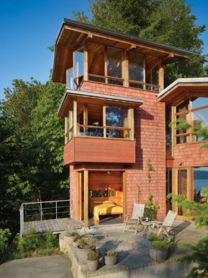 Tower Cabins Small House Plans Architecture House Small House