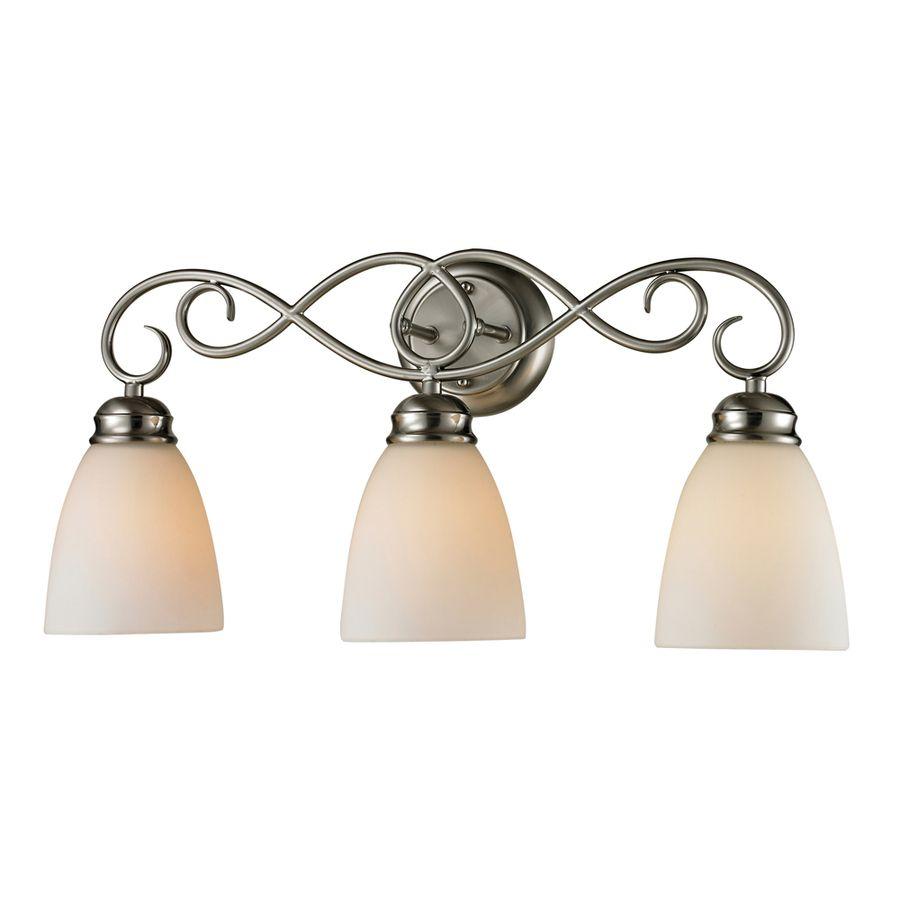 Westmore Lighting Sunbury 3 Light Brushed Nickel Oval Vanity Light Bb3 Bathroom Vanities Products And Vanities