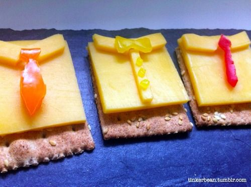 Father's Day Cheese & Cracker Shirt Snack | Fun Food Ideas ...