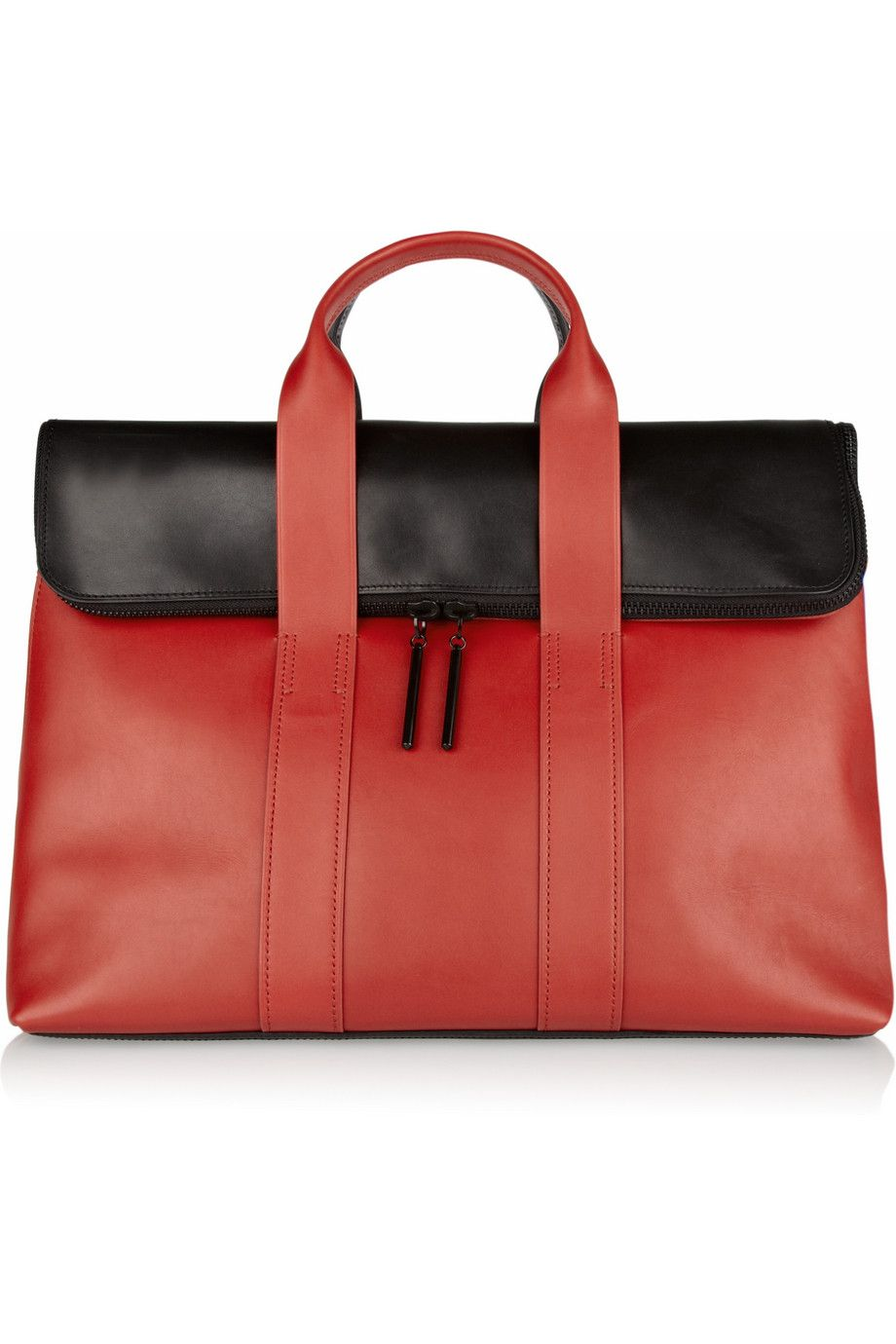 3.1 Phillip Lim - 31 Hour two-tone leather tote