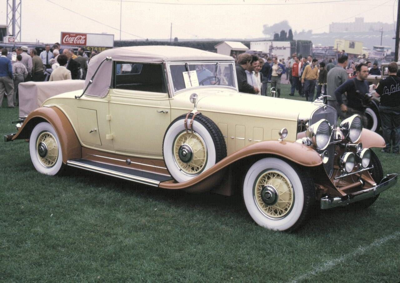 1929 Lincoln Cabriolet Light Yellow & Brown | Cars 04 - 1920-1929 ...