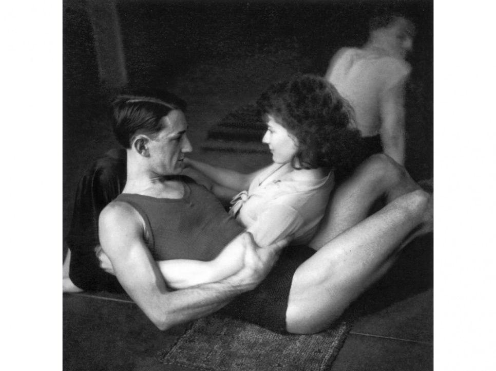 """""""Lisa et Fernand Fonssagrives, ballets Weidt"""", Paris, 1933. Comme Pierre Jamet"""