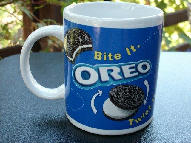 Oreo Mug Mugs Cool Coffee