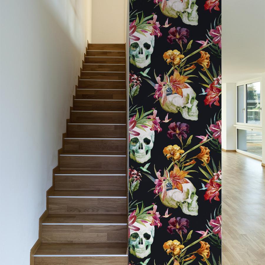 Buried Treasure Wall wallpaper, Wallpaper, Floral wallpaper