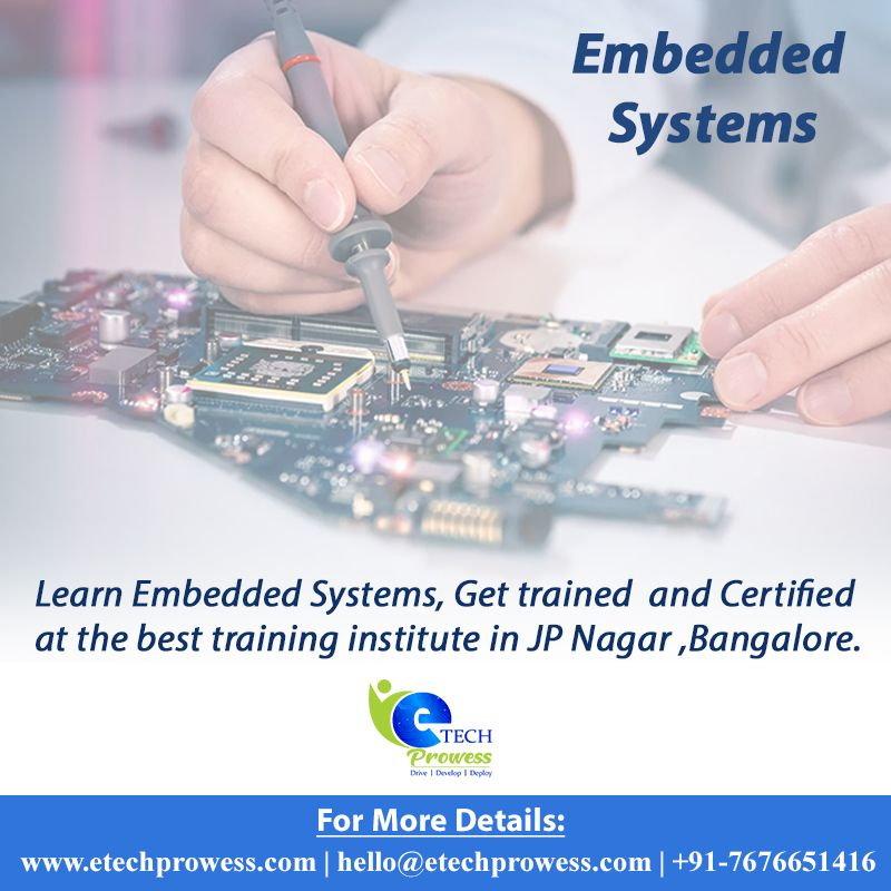 Embedded Systems Course In Bangalore Engineering Jobs Learning Technology System