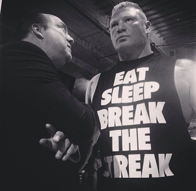 Eat Sleep Break The Streak Repeat Brock Lesnar
