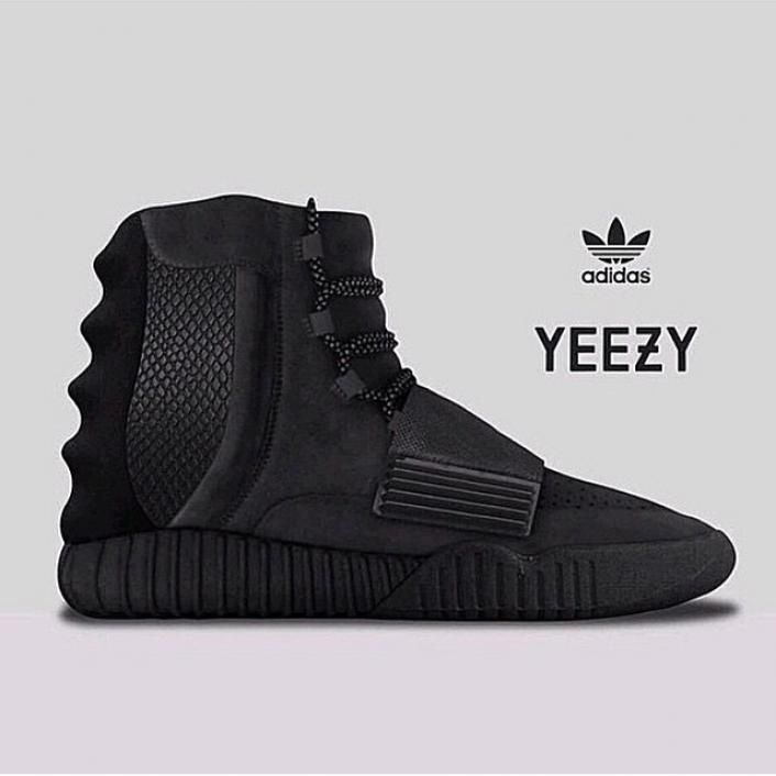 black yeezy 750 boost links and online release info