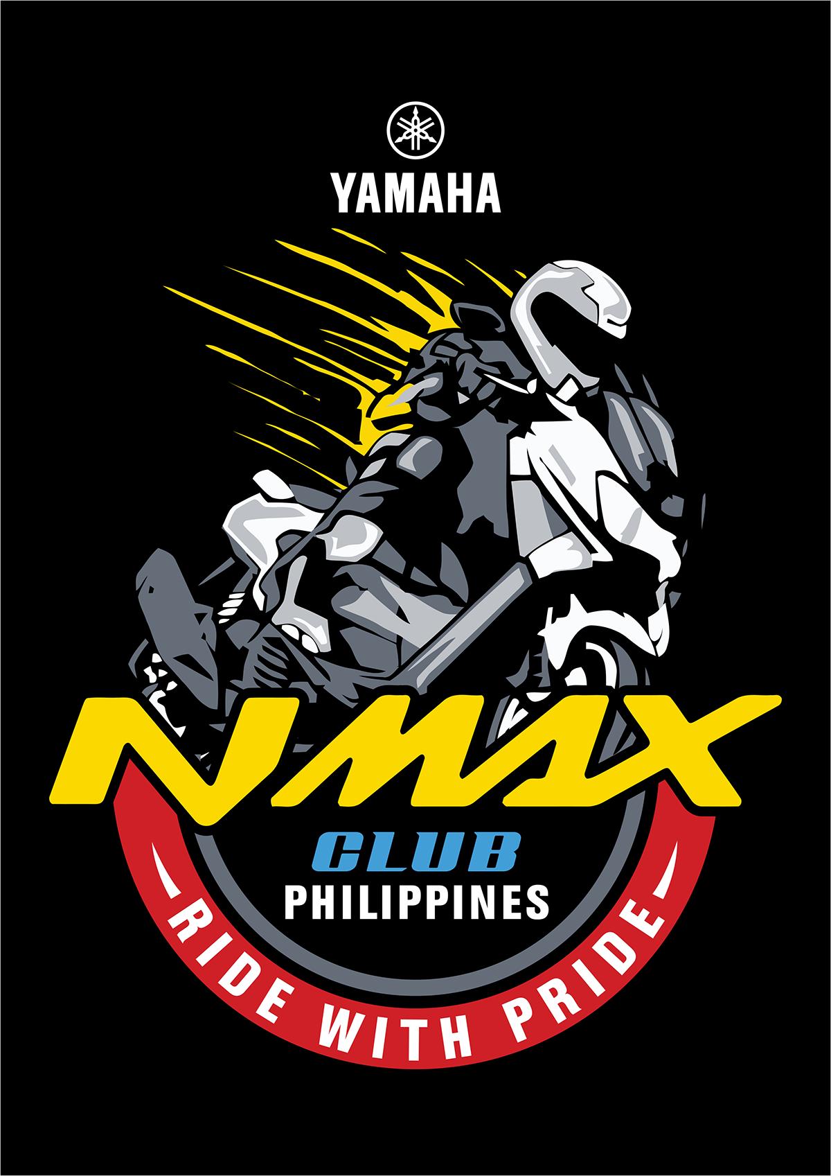 Nmax Logo Png : PHILIPPINES, Shirt, Design, Behance, Design,, Logos, Motorcycles