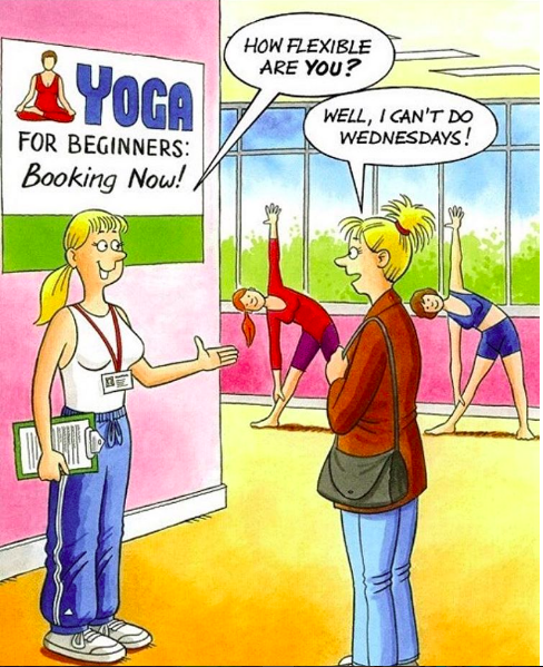 Pin By Yoga Zeal On Yoga Jokes Yoga Funny Funny Yoga Pictures Yoga Jokes