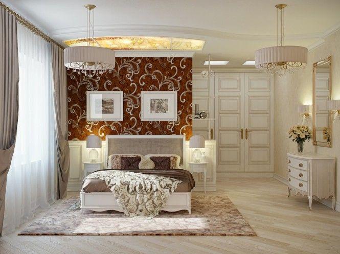 Decorating Breathtaking Red Cream Bedroom Decor 665x497 Elegant Bedrooms Design