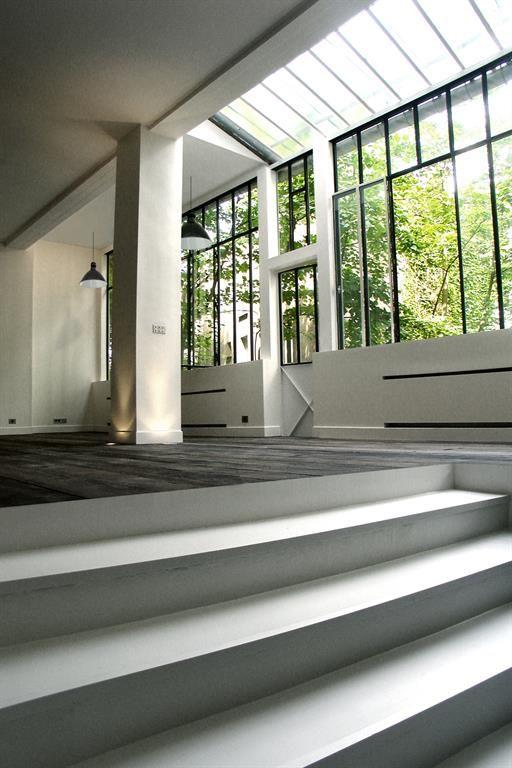 Loft à montmartre projet darchitecture intérieure et installation dune verrière