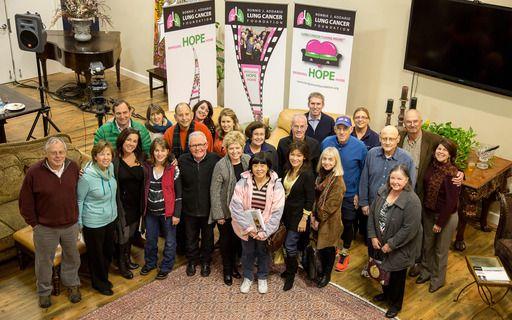 The Bonnie J Addario Lung Cancer Foundation Presents Living Room