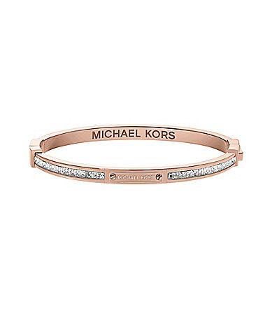 Michael Kors Boxed Pave Bangle #Dillards | Pave bangle ...