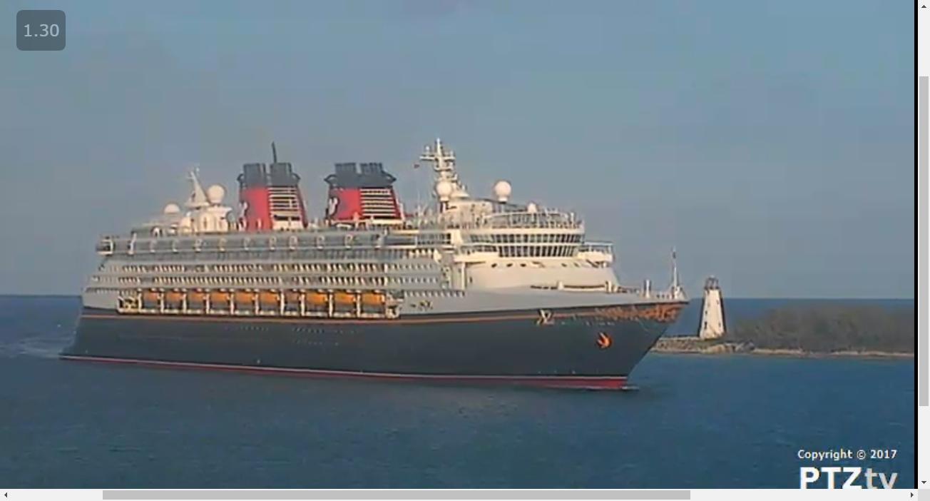 Port Nassau Webcam PTZtv Live Streaming Nassau Cruise Port Web - Cruise ship live webcams