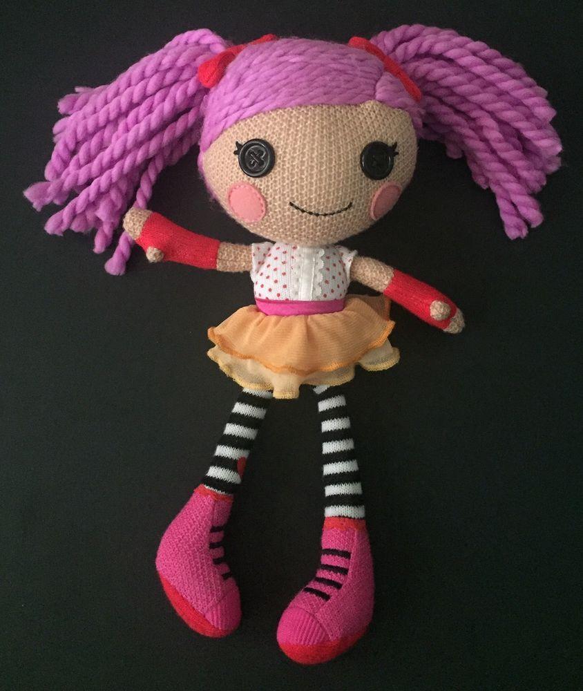 Lalaloopsy Super Silly Party Crochet Peanut Big Top Plush Doll Stuffed Toy  Rare #Lalaloopsy   Lalaloopsy, Crochet doll, Plush dolls