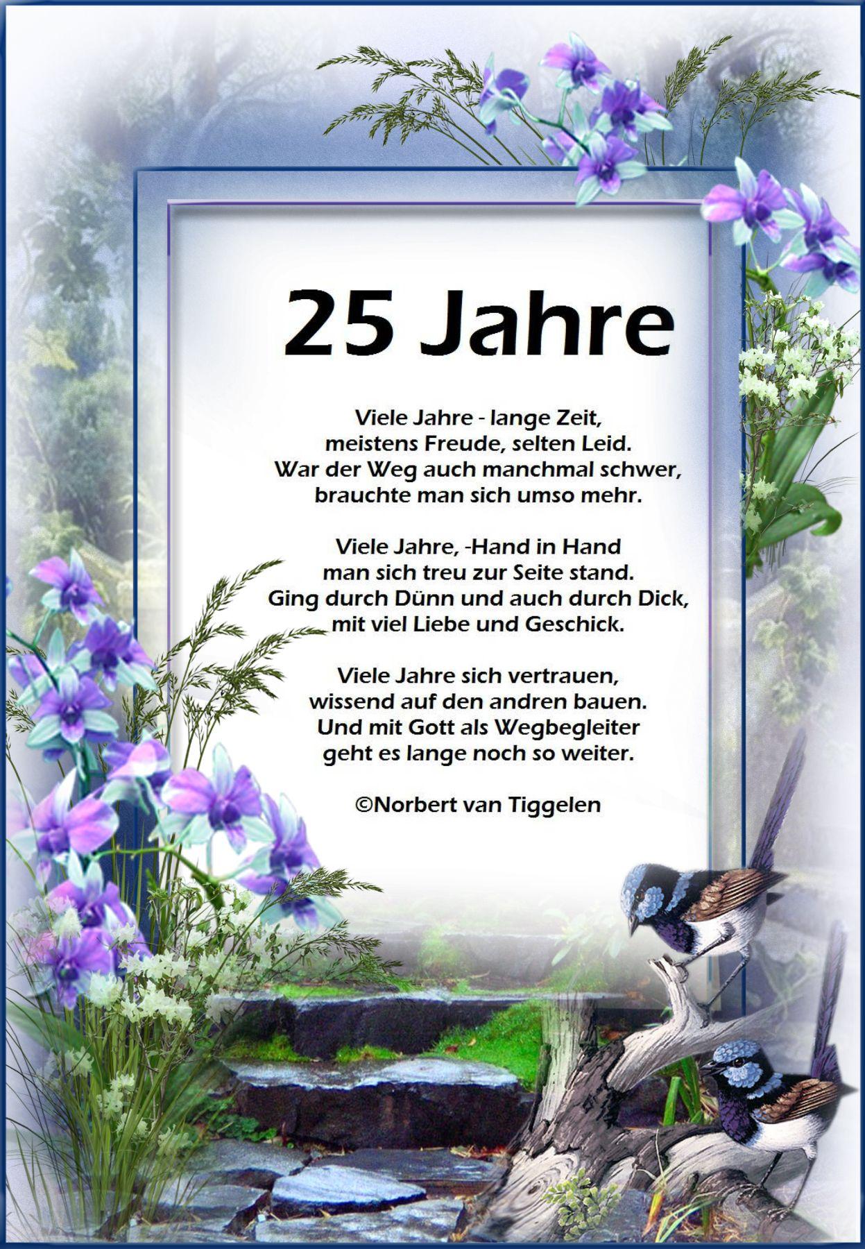 Silberne Hochzeit  Lesezeichen  Gedicht silberhochzeit Silberne hochzeit spruch und Sprche