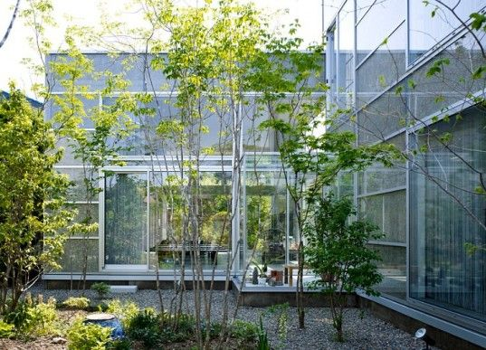Beautiful Transparent Garden House In Tokyo Can T Leave Nature Outside House Tokyo Home Garden Exterior
