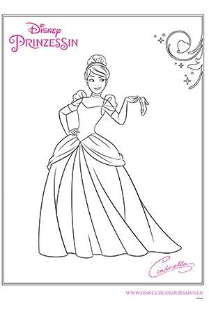 Disney Prinzessin Cinderella Ausmalbilder Ausmalbilder