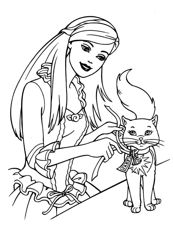 Quatang Gallery - Kleurplaat Poes Roos Cat Coloring Page Coloring Pages Coloring Books
