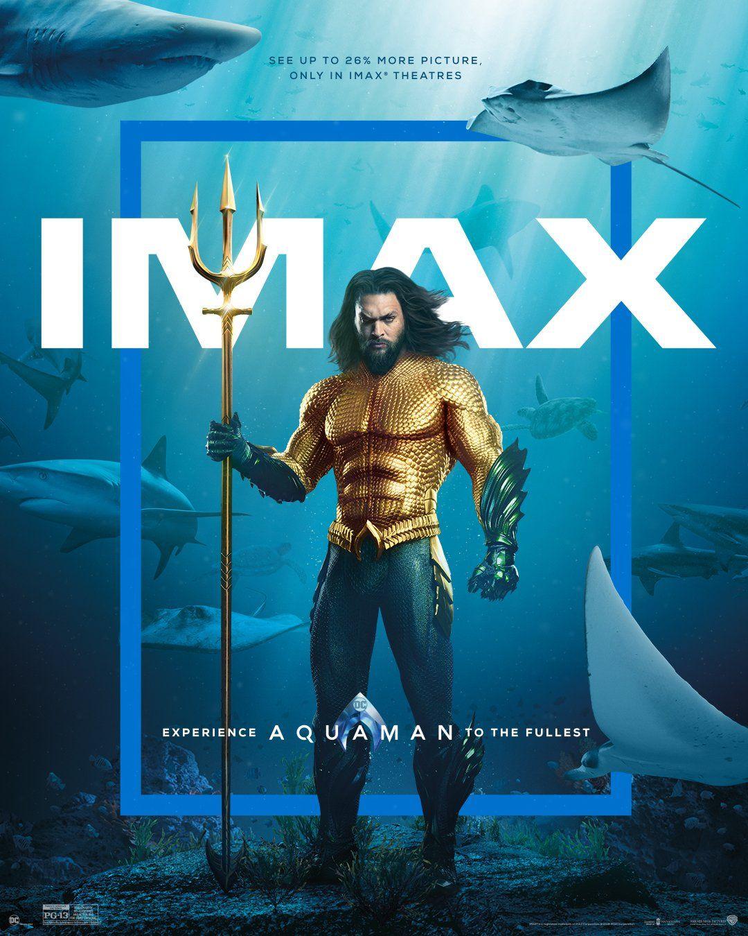 AQUAMAN đã có bản WEB-DL chuẩn IMAX chất lượng rất tốt