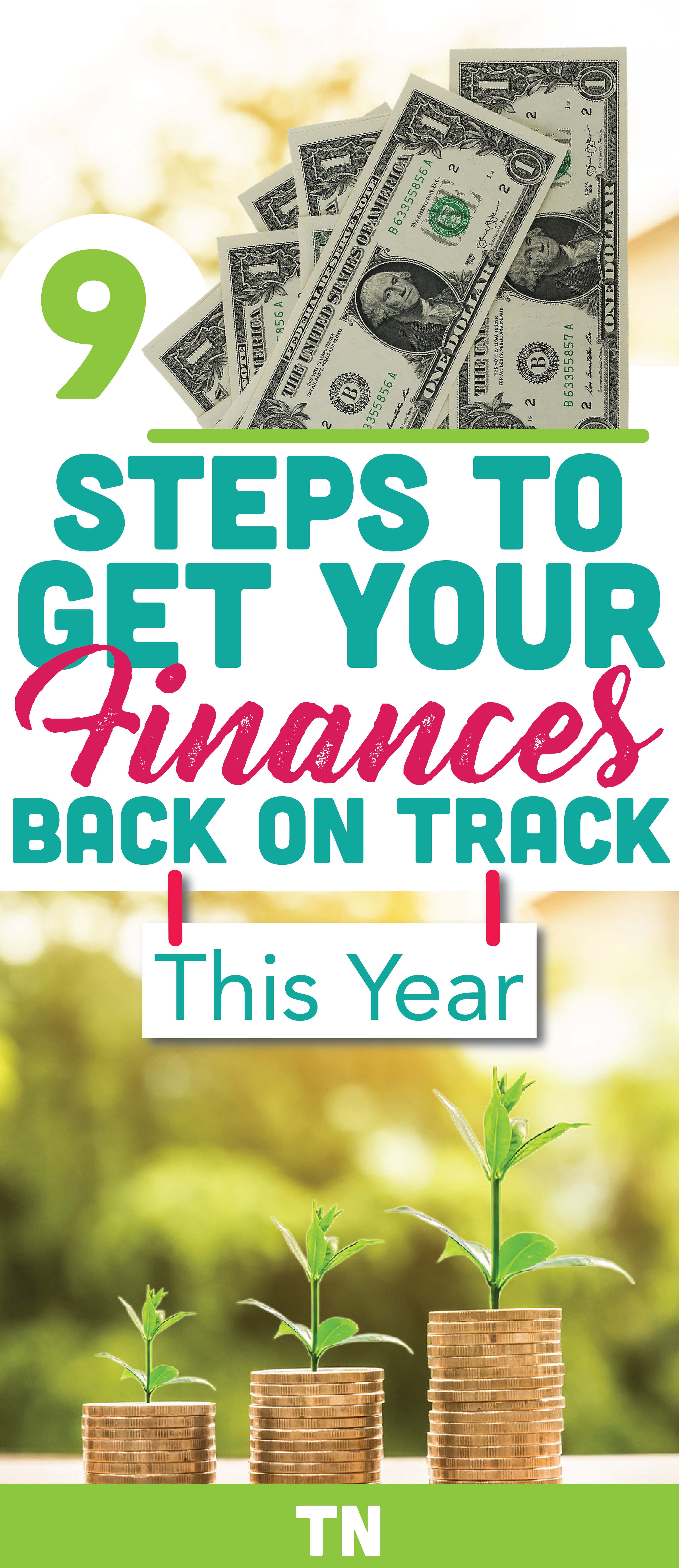 9 easy steps to get your money back on track this year email