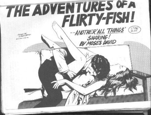 The little flirty fishy