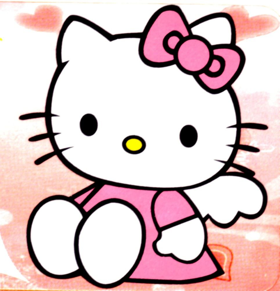 Dessin En Couleurs A Imprimer Personnages Celebres Hello Kitty