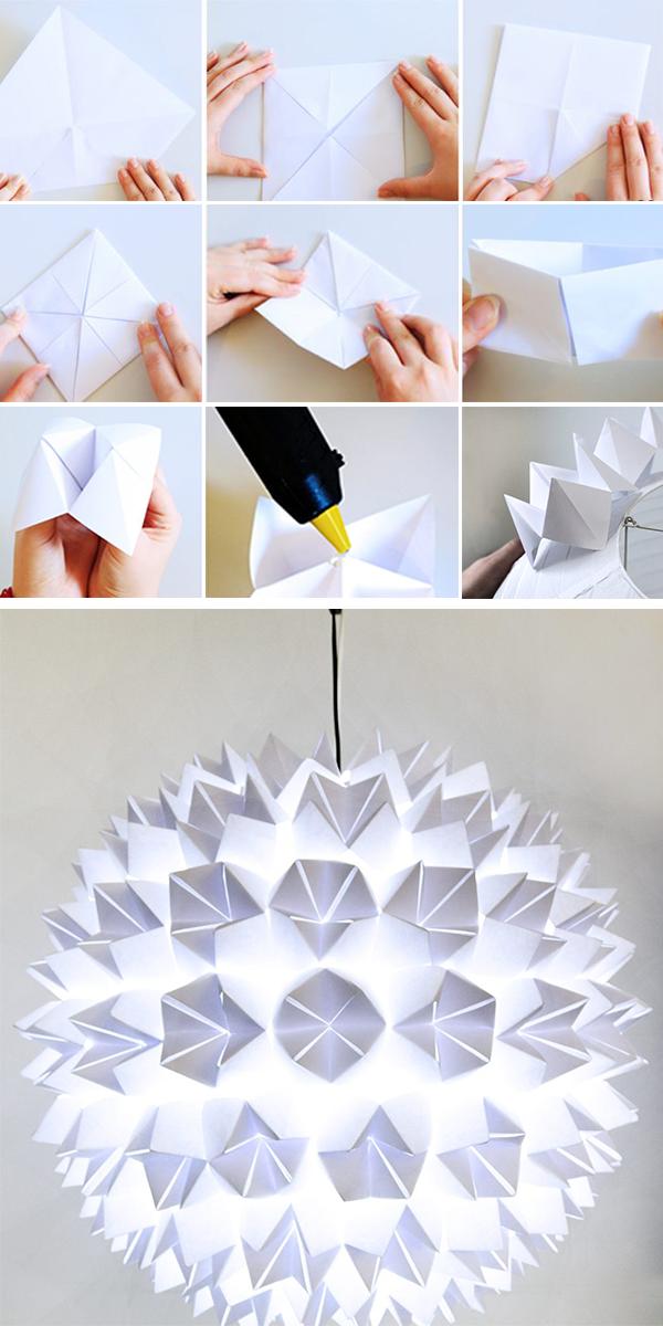 Photo of Anleitung: DIY Papierlampe basteln – WOHNKLAMOTTE