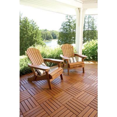 The flexible design of GreatDeck Outdoor PVC tiles allows for ...