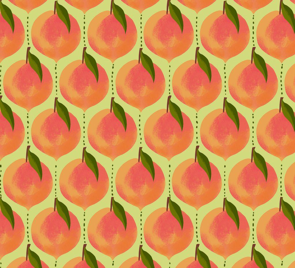 Peaches Pattern Peach Wallpaper James Giant Peach Pattern