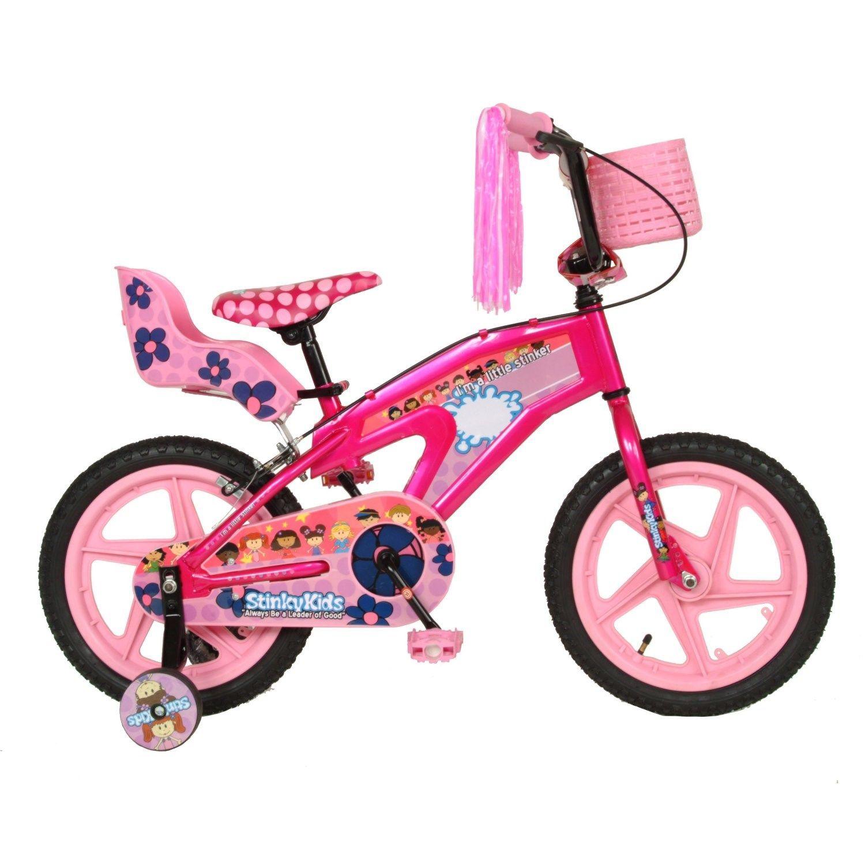 Stinkykids 20116 Stinky 16 Kids Girls Bicycle In Pink Kids Bike
