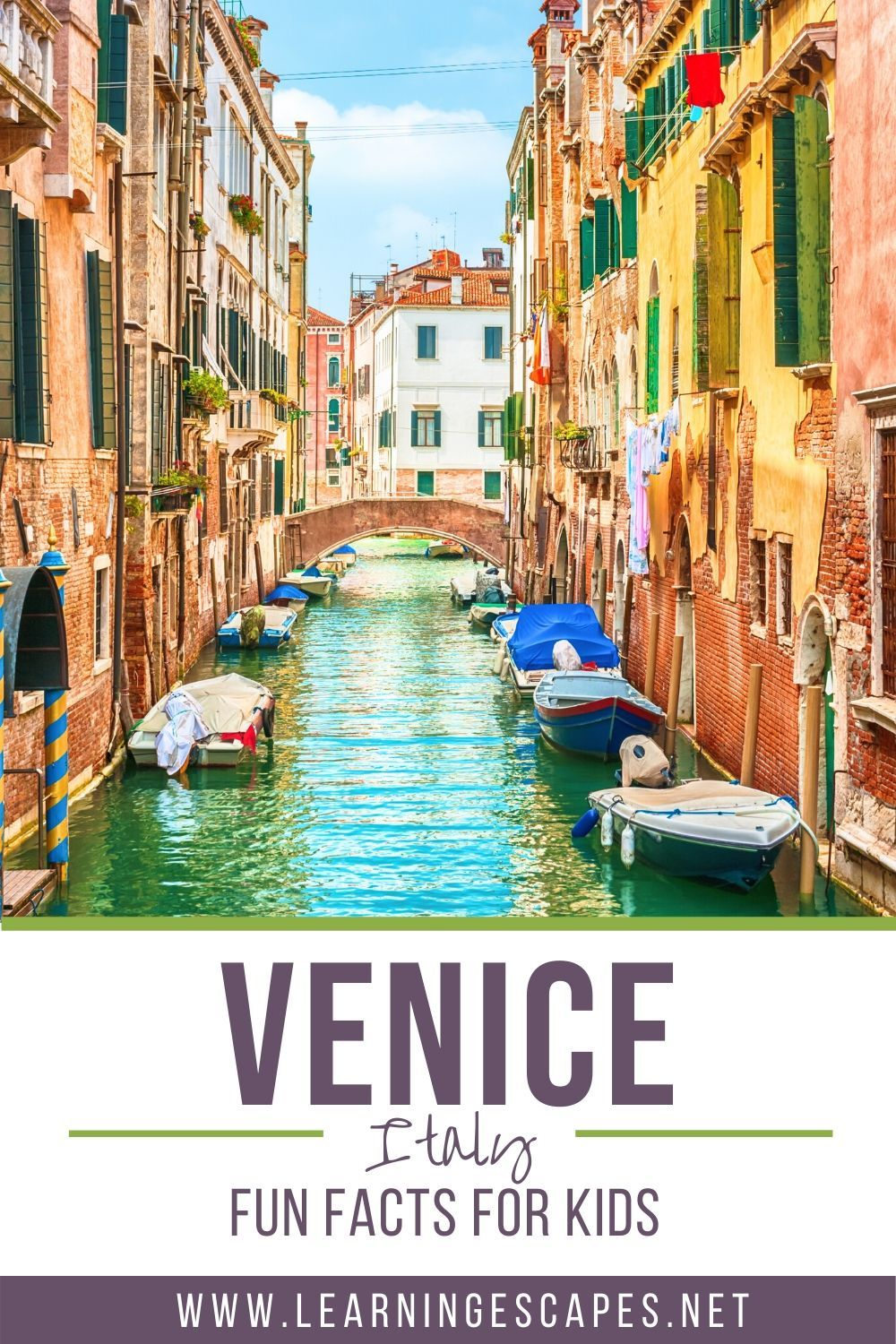 Fun facts about Venice for kids in 2020 | Italy travel ...