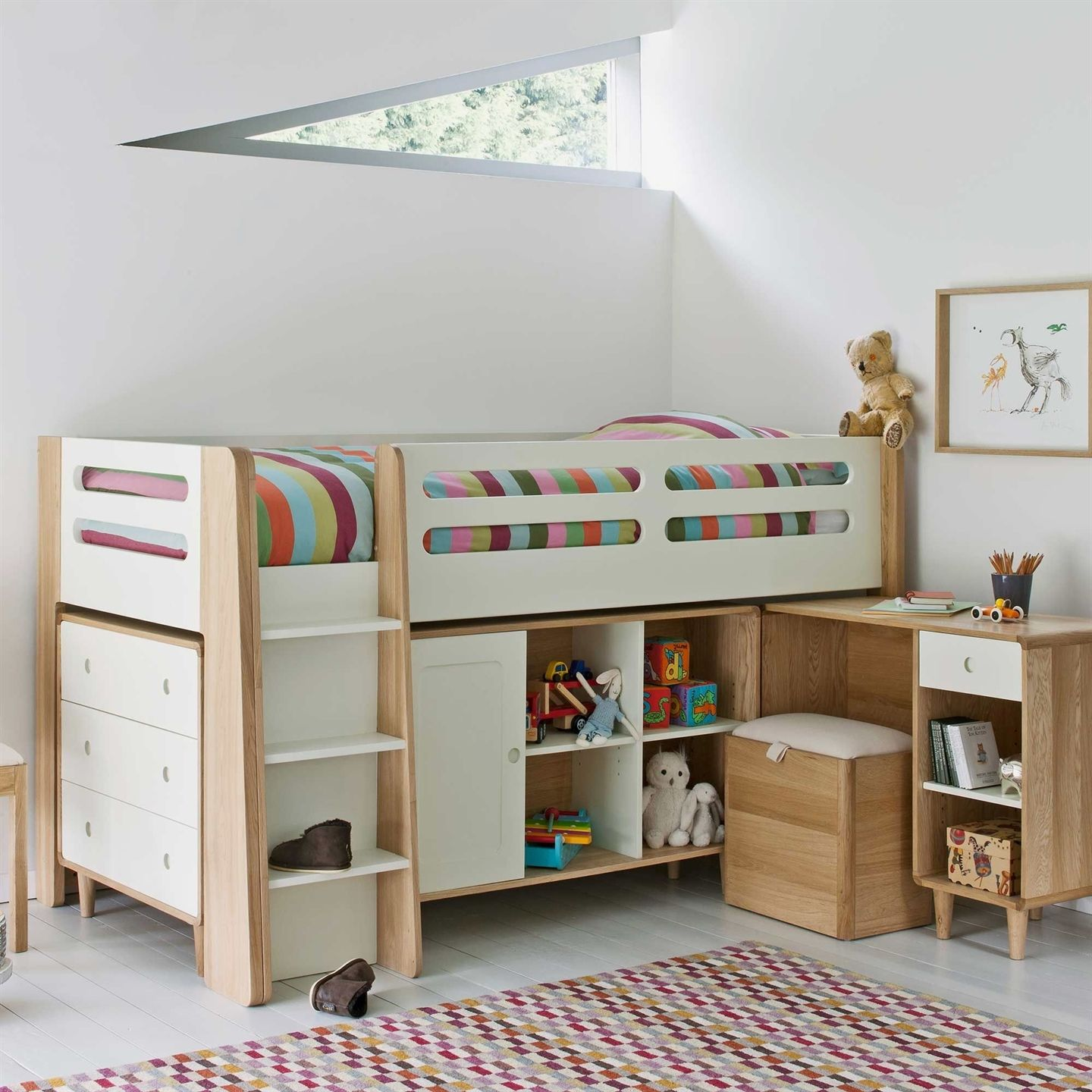 Cute loft bed ideas  Eden cm Cabin Bed available online at Barker u Stonehouse Browse