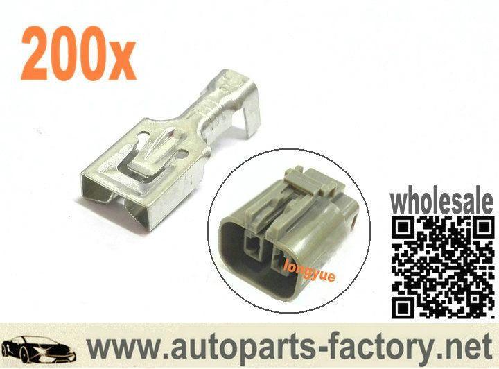 Long Yue 200pcs Alternator Plug Connector To Suit Bosch Hitachi Mitsubishi Ford Holden Alternator Hitachi Mitsubishi