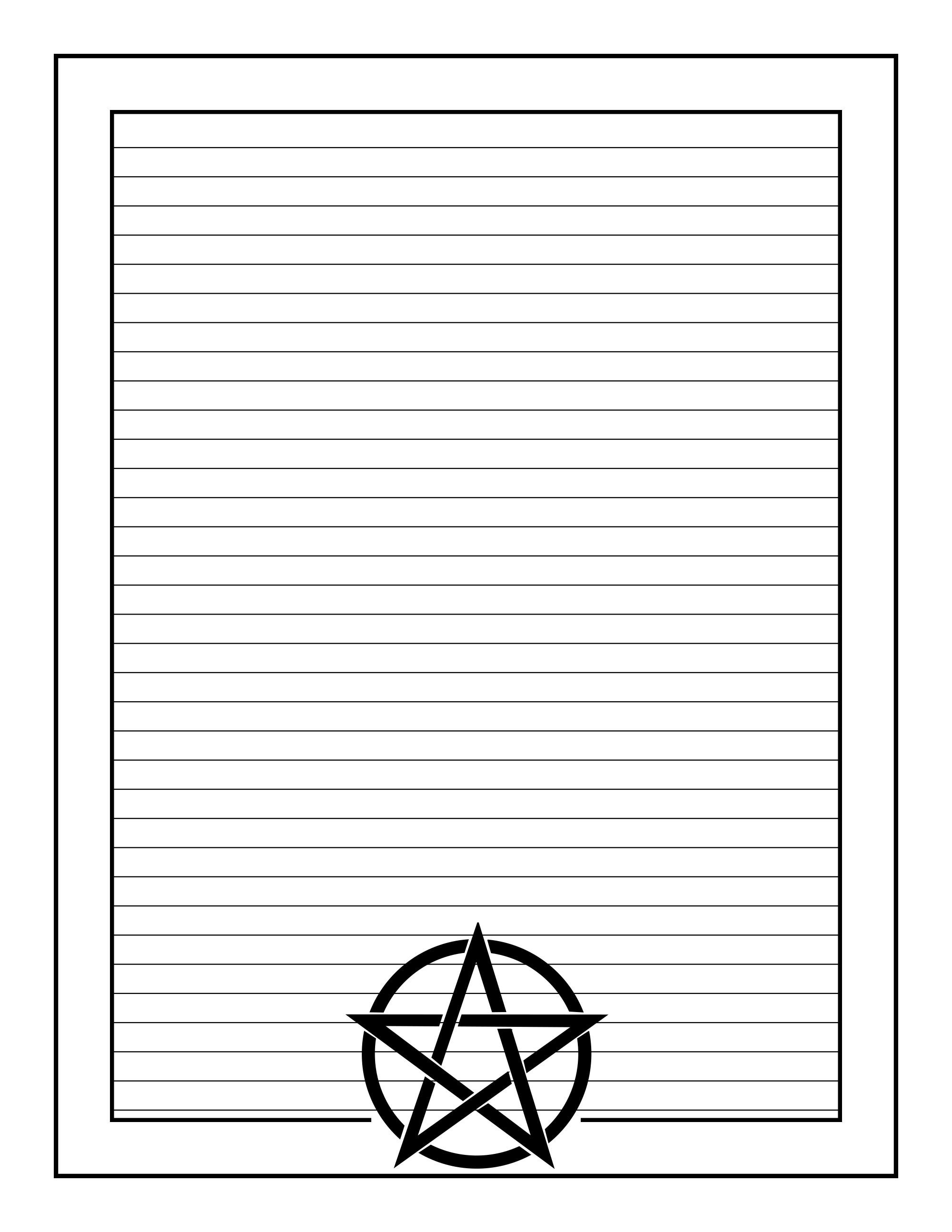 Printable Stationary Page Book Of Shadows Free Download Book Of Shadows Blank Book Of Shadows Witch Coloring Pages
